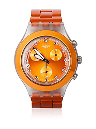 Swatch Quarzuhr Unisex Unisex FULL-BLOODED NARANJA SVCK4051AG 43.0 mm