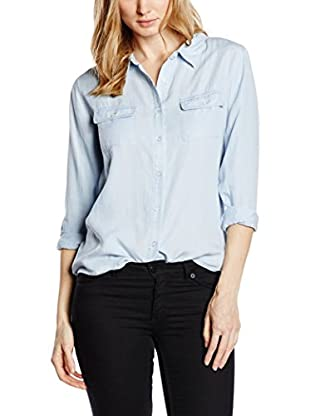 Capital B Bluse Capital B Light Denim Blouse denim 48