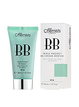 SKINCHEMISTS BB Creme Triple Protect Medium 30 SPF  30.0 ml, Preis/100 ml: 63.3 EUR