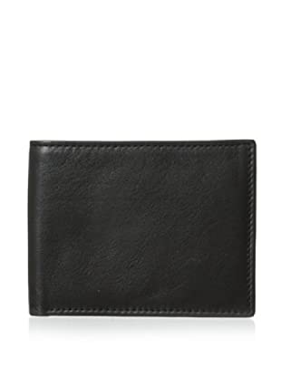 Trafalgar Men's Slimfold Wallet (Black)