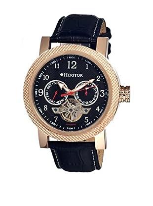 Heritor Automatic Uhr Millennial Herhr1504 schwarz 49  mm