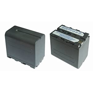 【クリックで詳細表示】Amazon.co.jp|単品』 残量表示付』 ソニー NP-F960 NP-F970 互換 バッテリー Sony VX-2000 DCR-VX9000 DCR-VX2100 DCR-VX2100 等対応|カメラ・ビデオ通販