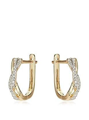 Bentelli Pendientes Oro / Oro Blanco