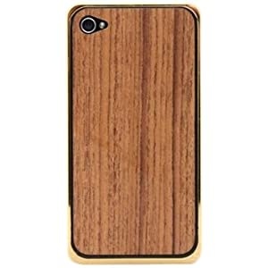 PATCHWORKS Alloy X Wood Bumper for iPhone 4/4S