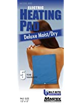 Bilt-Rite Mastex Health Deluxe Moist/dry Heat Pad, Blue