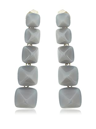 LAGRIMAS NEGRAS Ohrringe Sterling-Silber 925