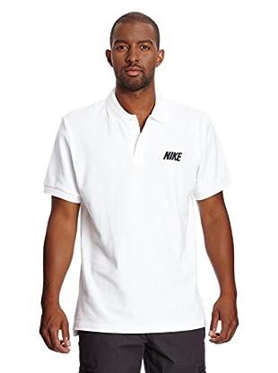 Nike Poloshirt Pique Wit