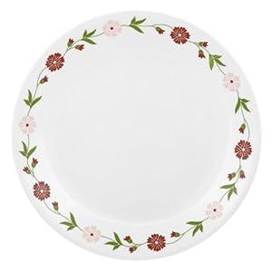 Corelle Livingware Spring Pink Dinner Plate Set, 6-Pieces