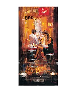 Artopweb Panel Decorativo Madjid Bar Scene II 50x100 cm Multicolor