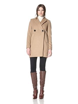 Vince Camuto Women's Boyfriend Coat (Camel)