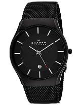 Skagen Analog Black Dial Men's Watch - 956XLTBBI