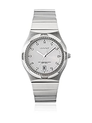 Gant Reloj con movimiento cuarzo japonés Fairfax W70194 Plateado 37 mm