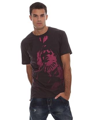 Guess Camiseta Print (negro)