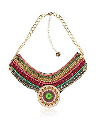 Desigual Halskette Beads goldfarben