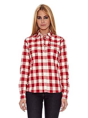 Pepe Jeans London Camisa Mujer Ashford (Rojo)