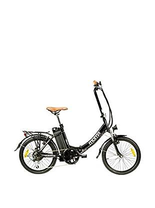 MOMA BIKES Bicicletta Pieghevole Ebike 20 Alu 6V 36V250W Lithium Nero