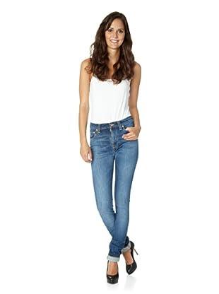 Nudie Jeans Co Jeans High Kai Midshade Original (Blau)