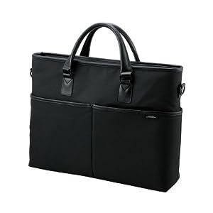 Elecom ZSB-BM010BK Zeroshock Laptop Bag (For 16.4 inches Laptops & Tabs/ Outstanding Shock Power of Absorption / Japanese Design / Black Color)