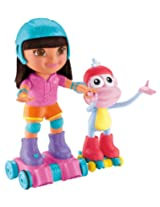 Fisher-Price Dora the Explorer Baby Toy with Roller-skates and Boots
