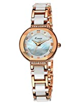 Kimio Analog Silver Dial Women's Watch - KW508S-RGY01