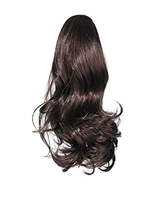 Love Hair Extensions Kunsthaar-Pferdeschwanz Percilla mit Kordel, 40,6cm, 2 Dark Brown