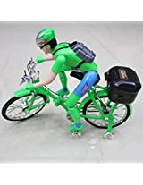 Ben10 Battery Operated Foldable Bicycle With Music & Lights