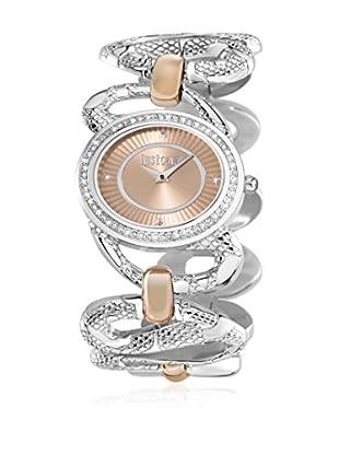 Just Cavalli Reloj de cuarzo Woman Sinuous Plateado / Rosado 36x46 mm