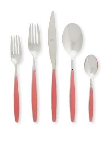 Mepra 20-Piece Caramella Cutlery Set (Fragola)