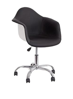 Bürostuhl schwarz/weiß