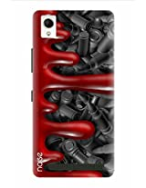 Noise Bullets In Blood Printed Cover for Intex Aqua Power Plus