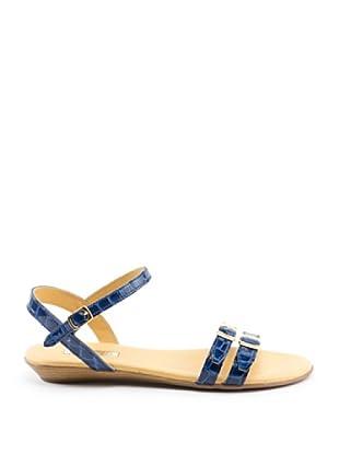 Misu Sandale Keil (Blau)