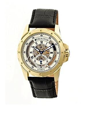 Heritor Automatic Uhr Armstrong Herhr3403 schwarz 48  mm