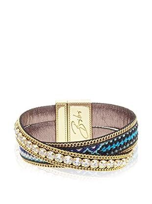 Bibi Bijoux Armband Bohemian mehrfarbig/goldfarben