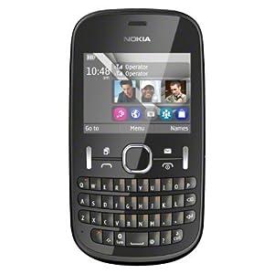 Nokia Asha 200 Smartphone-Graphite