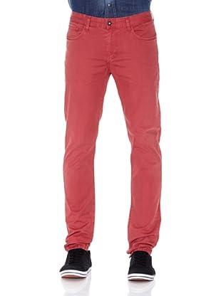 Pepe Jeans London Pantalón New Smiths (Rojo)
