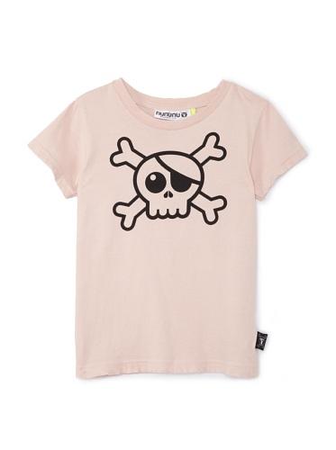 NUNUNU Kid's Pirate Tee (Pink)