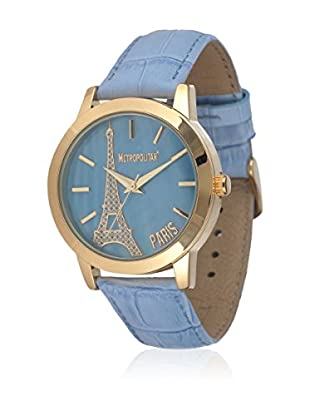 Metropolitan Reloj de cuarzo  Azul Claro 36.5 mm