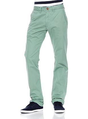 Springfield Pantalón Colour Chino (Menta)