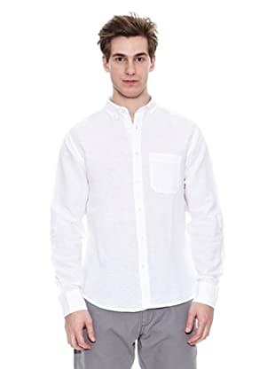 Springfield Camisa Sport G1 New Pin Poin (Blanco)