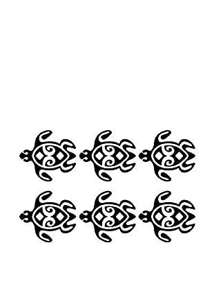 Ambiance Sticker Wandtattoo Turtles Chain