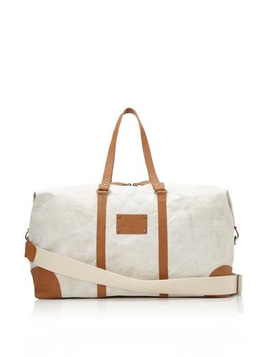 Jamie Young Handbags Women's Jitney Duffle Bag (Natural Vintage Canvas)