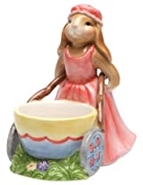 Appletree Design Barn Yard Bunny Egg Bowl, 4-1/2-Inch