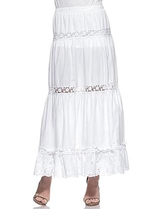 Crema Falda Hippie (Blanco)