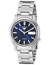 Seiko Men's SNK793 Seiko 5 Stainless Steel Blue Dial Automatic Watch