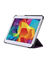 WAWO Creative Smart Tri-fold Cover Case for Samsung Galaxy Tab S 10.5-inch Tablet - Purple
