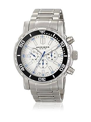Akribos XXIV Reloj con movimiento cuarzo suizo Man AK675WT 49 mm