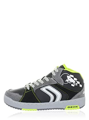 Geox Zapatillas Oracle Red Bull (Negro)
