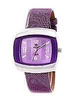 ADAMO Analogue Purple Dial Women's Watch - AD1068