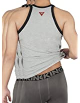 HAP Men's Kings Cotton Gym Vest (Pack Of 3)(kingscombo20_L_Light Grey_L)