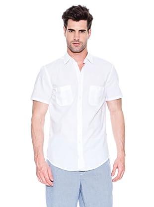 Hugo Boss Camisa Egrifye (Blanco)